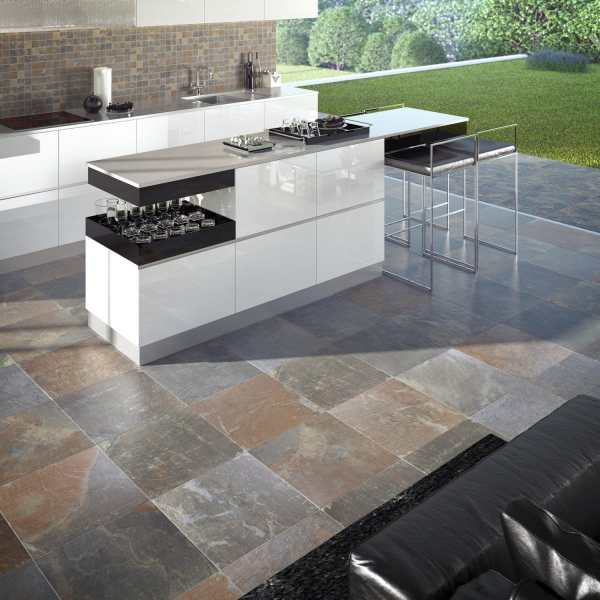 Kitchen tile   living room   outdoor   floor   MULTICOLOR SLATE     kitchen tile   living room   outdoor   floor   MULTICOLOR SLATE   CANYON