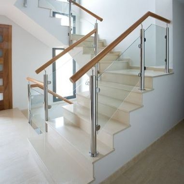 Stainless Steel Railing Md Pin 3 Pirba Glass Panel Indoor | Stainless Steel Staircase Price | Iron | Helical Staircase | Small Steel | Black Steel | Spiral
