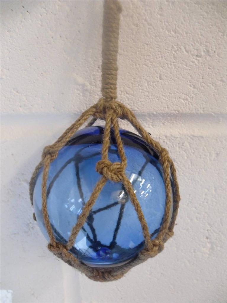 Blue Fisherman Pendant Light