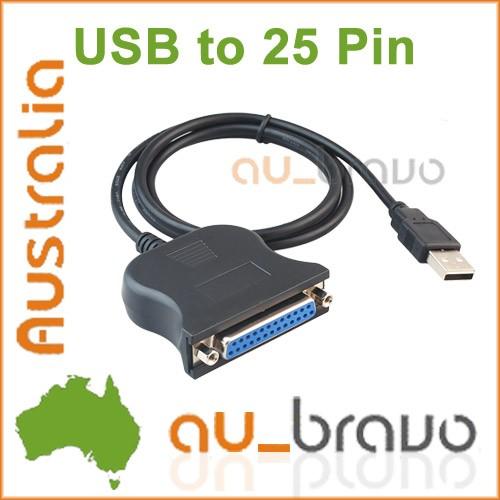 Convert Usb 25 Pin