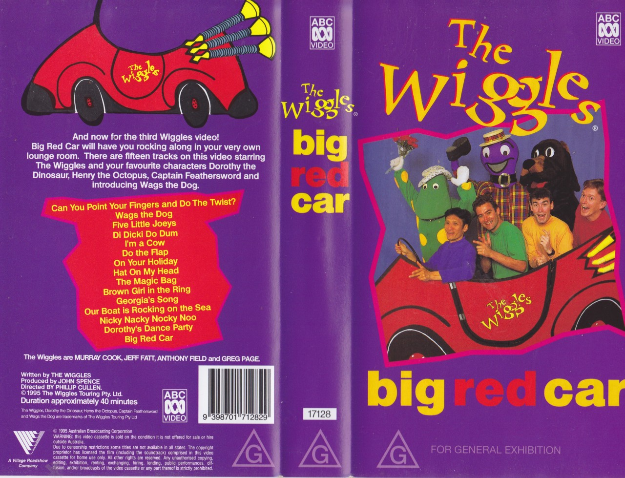 Wiggles Toot Toot Vhs