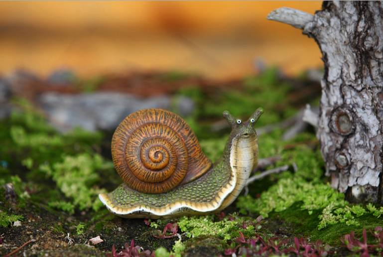 Snail Statue Outdoor Decor