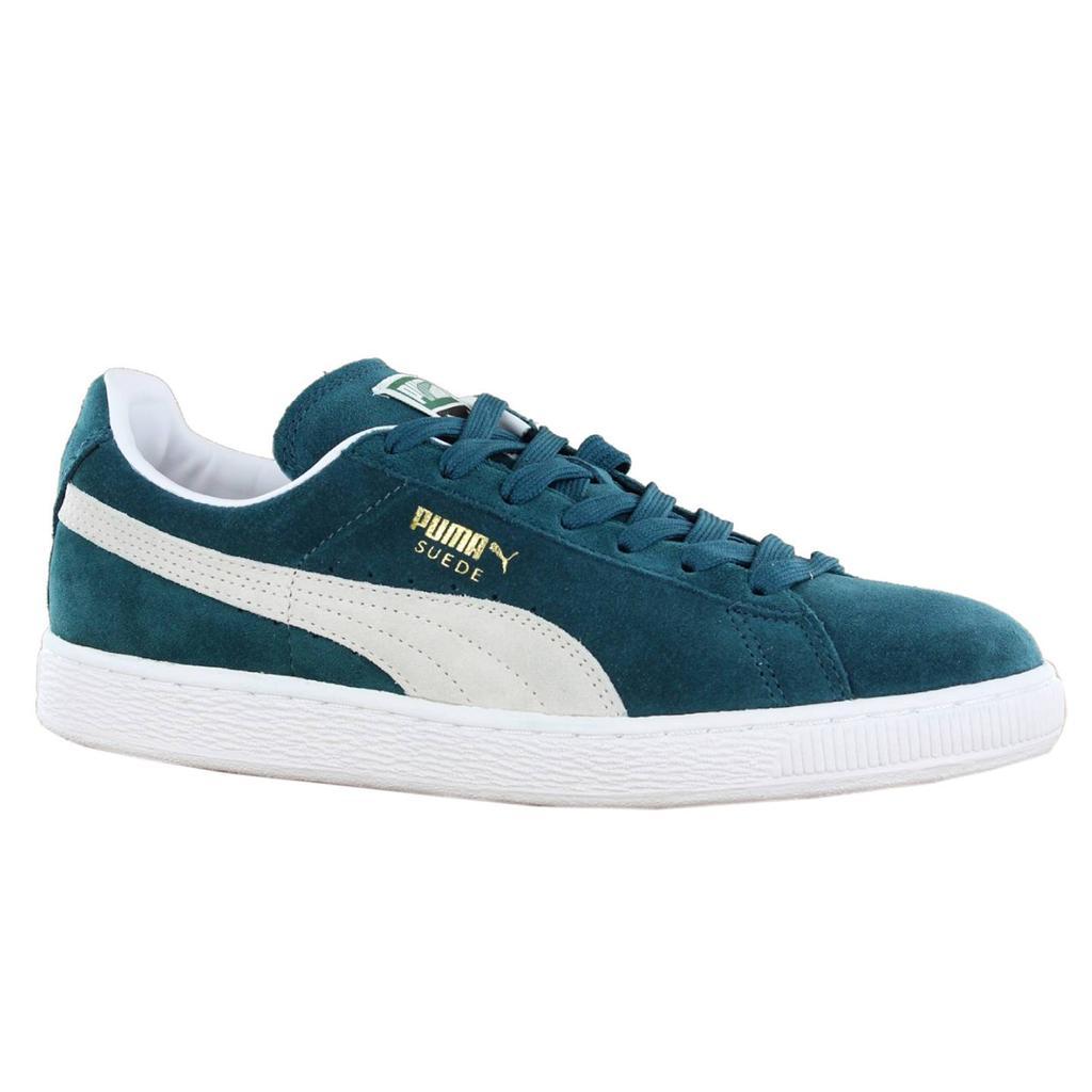 Teal Puma Shoes