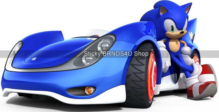 Car Shadow Hedgehog Decal