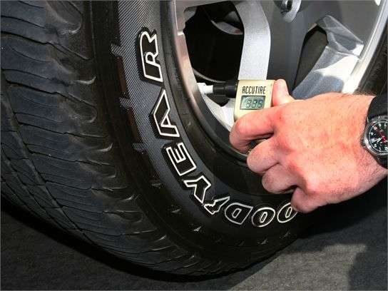 What Should Car Tire Pressure Be