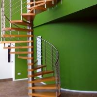 Interior Modern Design Stainless Steel Glass Spiral Staircase For   Spiral Staircase To Attic   Diy   Basement   Remodeling   Creative   Small