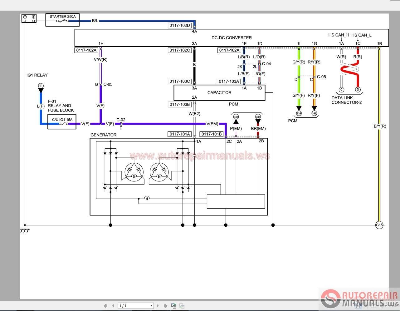 Tcm Forklift Wiring Diagram