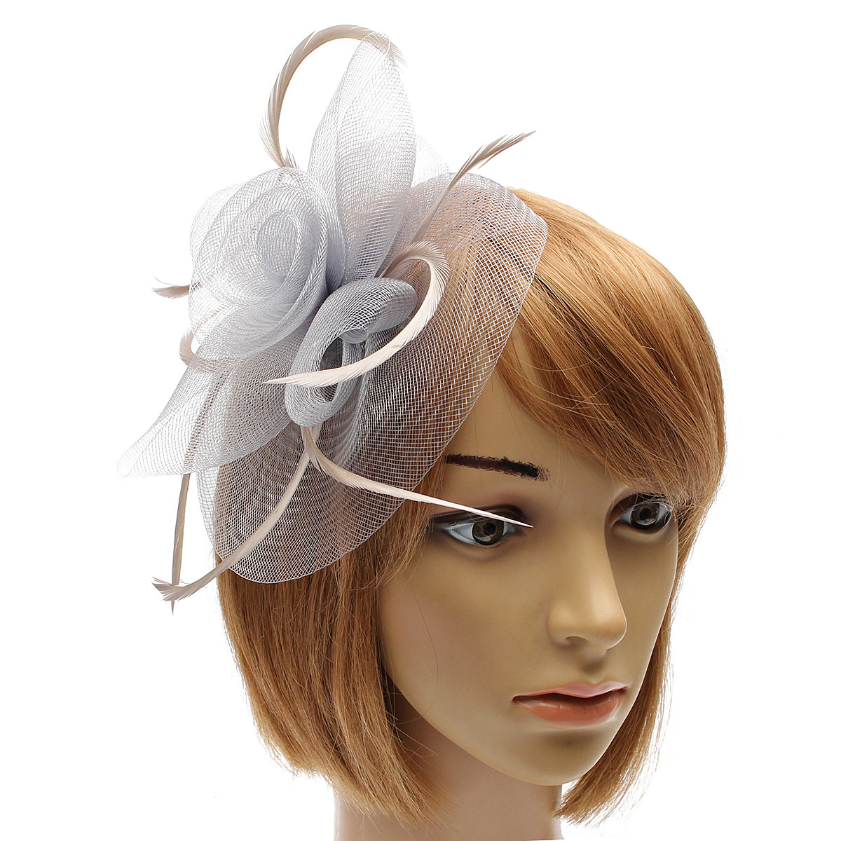 Small White Wedding Headpieces
