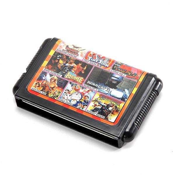 Sega Genesis 16 Bit Game Cartridges