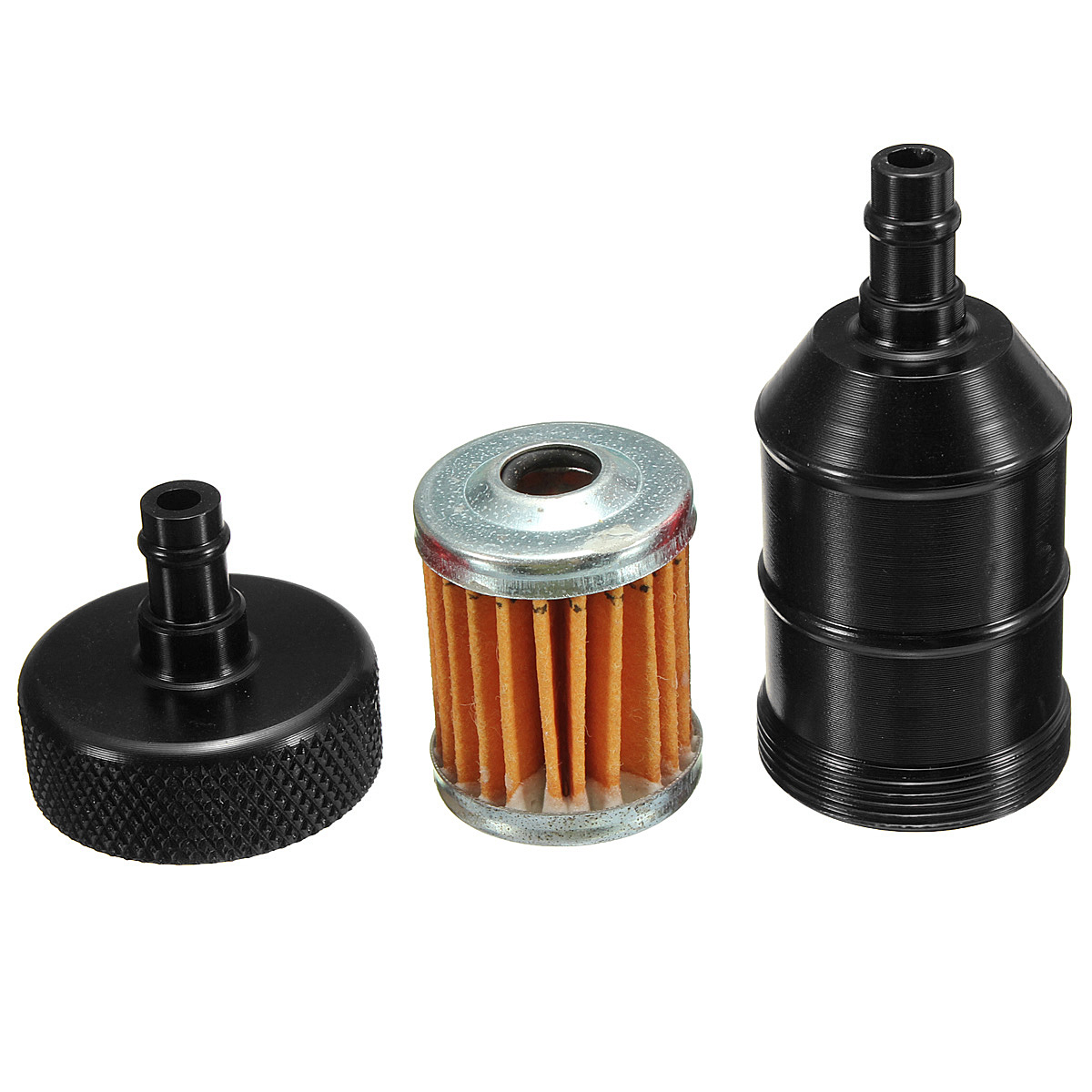 Inline Fuel Filter Clear Glass