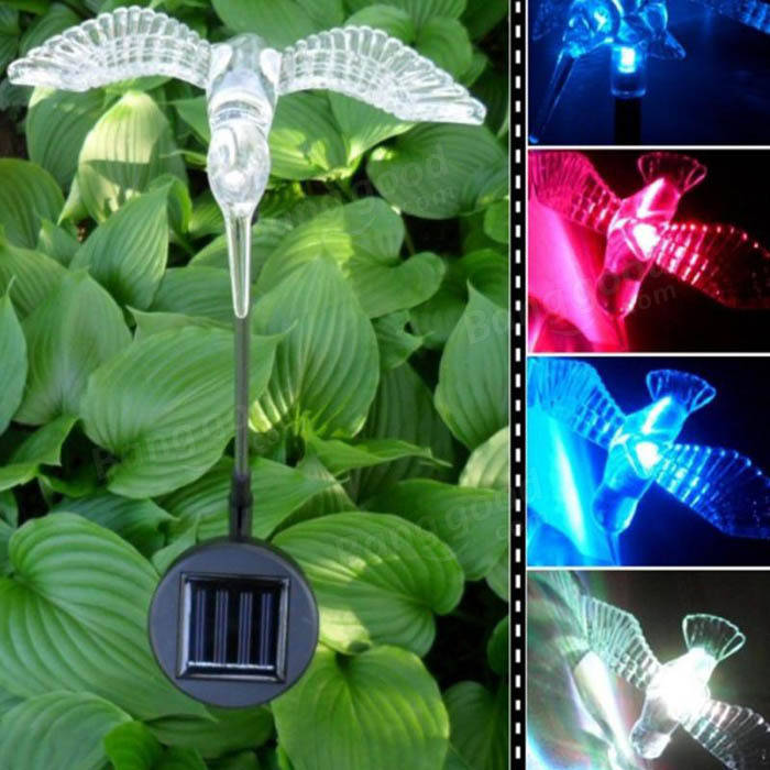 Solar Color Lights Outdoors