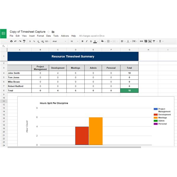 Excel Spreadsheet Production