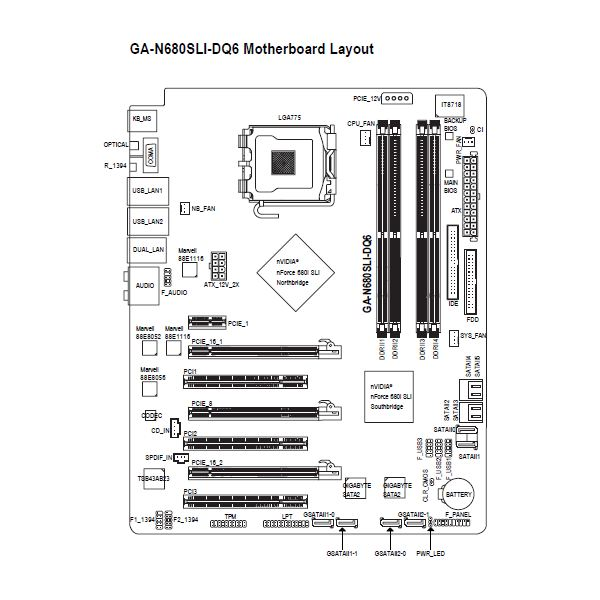 Dell Optiplex 760 Motherboard Diagram Pictures to Pin on