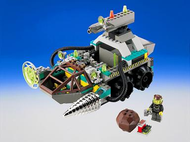 BrickLink   Set 4970 1   Lego Chrome Crusher  Rock Raiders     Lego Chrome Crusher
