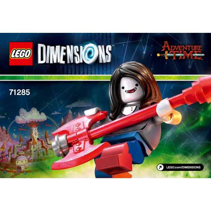 LEGO Marceline the Vampire Queen Set 71285 Instructions   Brick Owl     LEGO Marceline the Vampire Queen Set 71285 Instructions