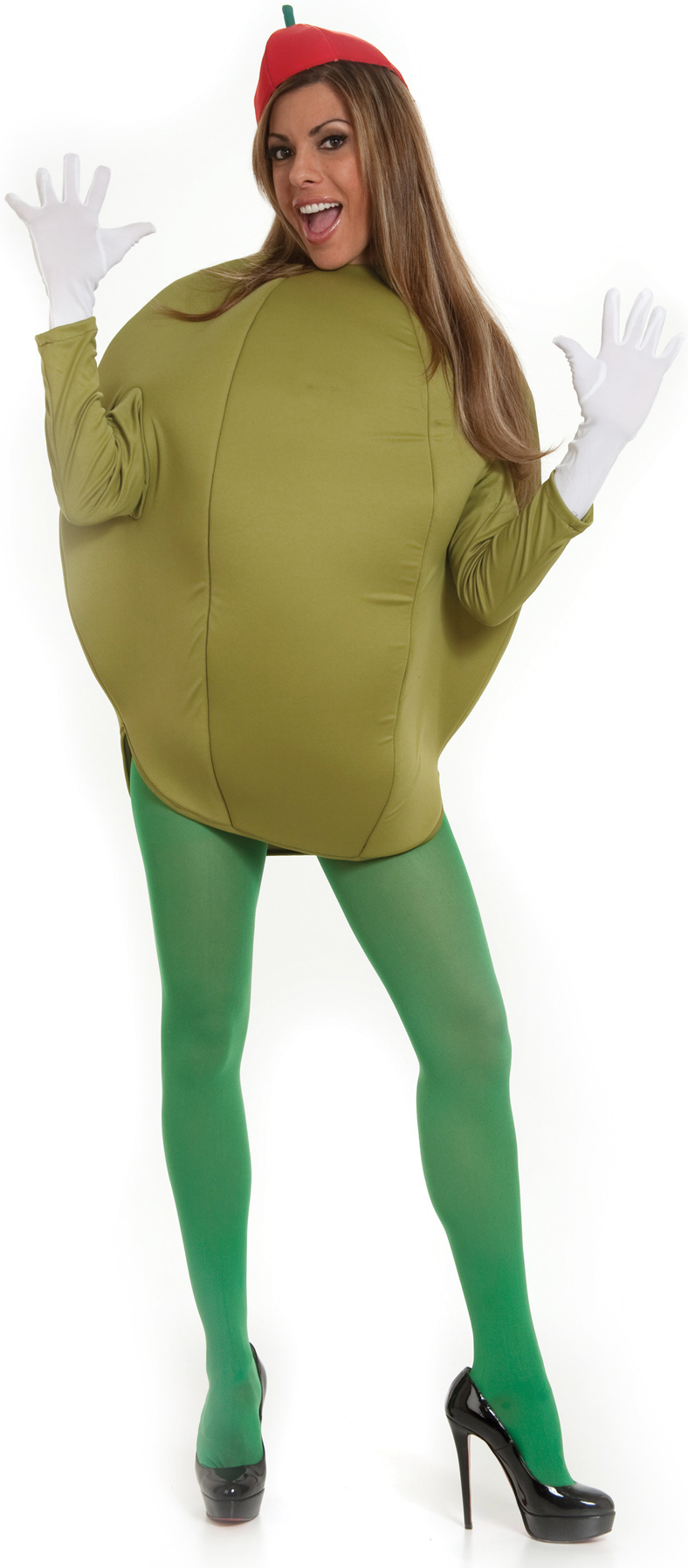 Olive Oil Woman Costume