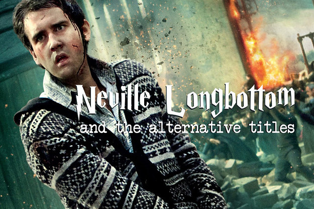 Longbottom Neville Quote Harry Potter