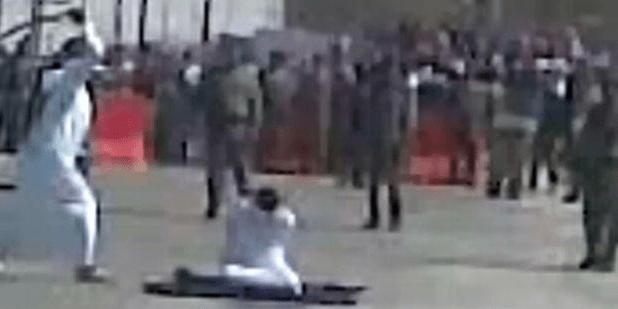 Saudi Arabia Beheaded Man