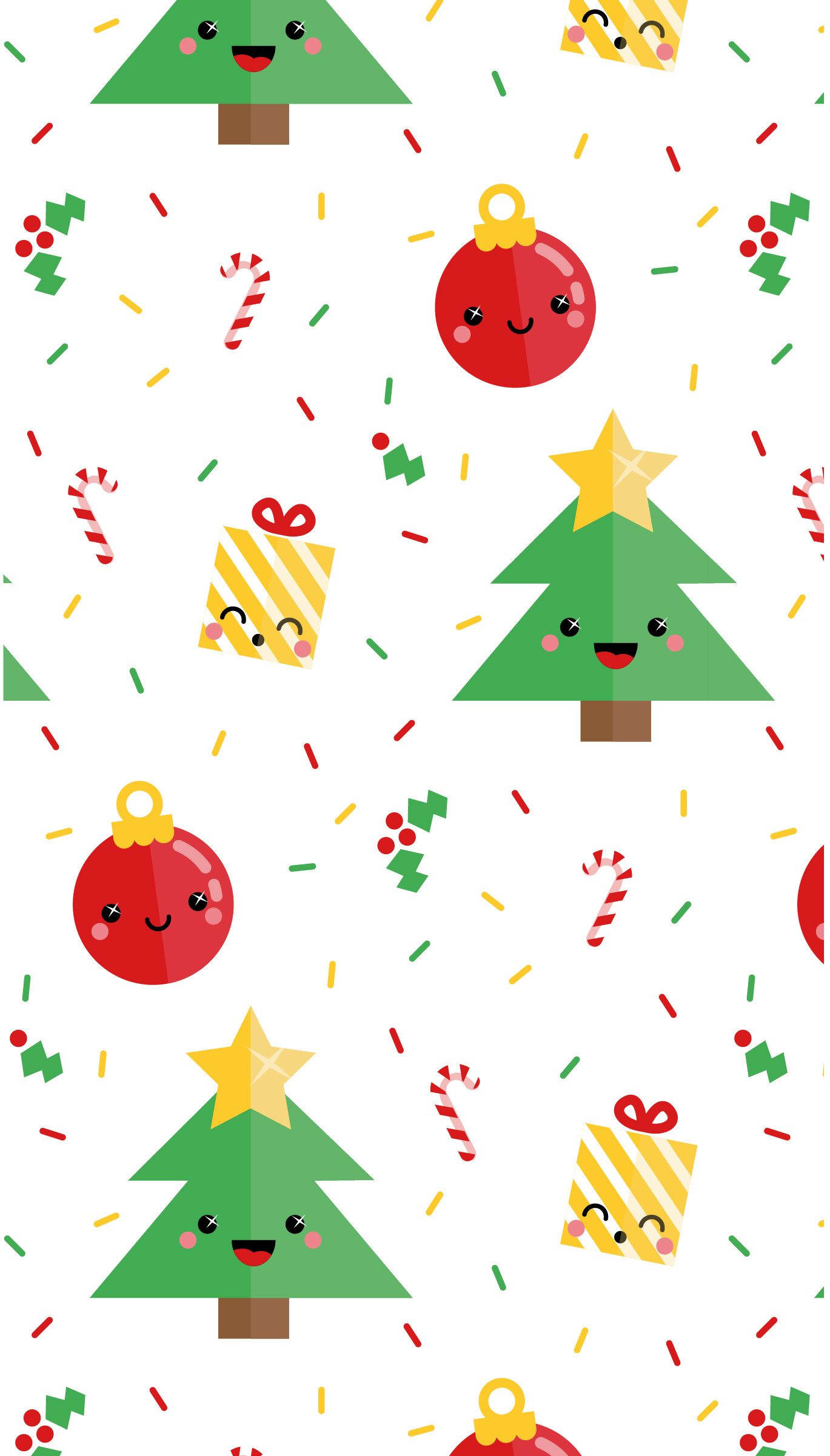 16 Cute Free Phone Backgrounds To Get You Into The Holiday ...