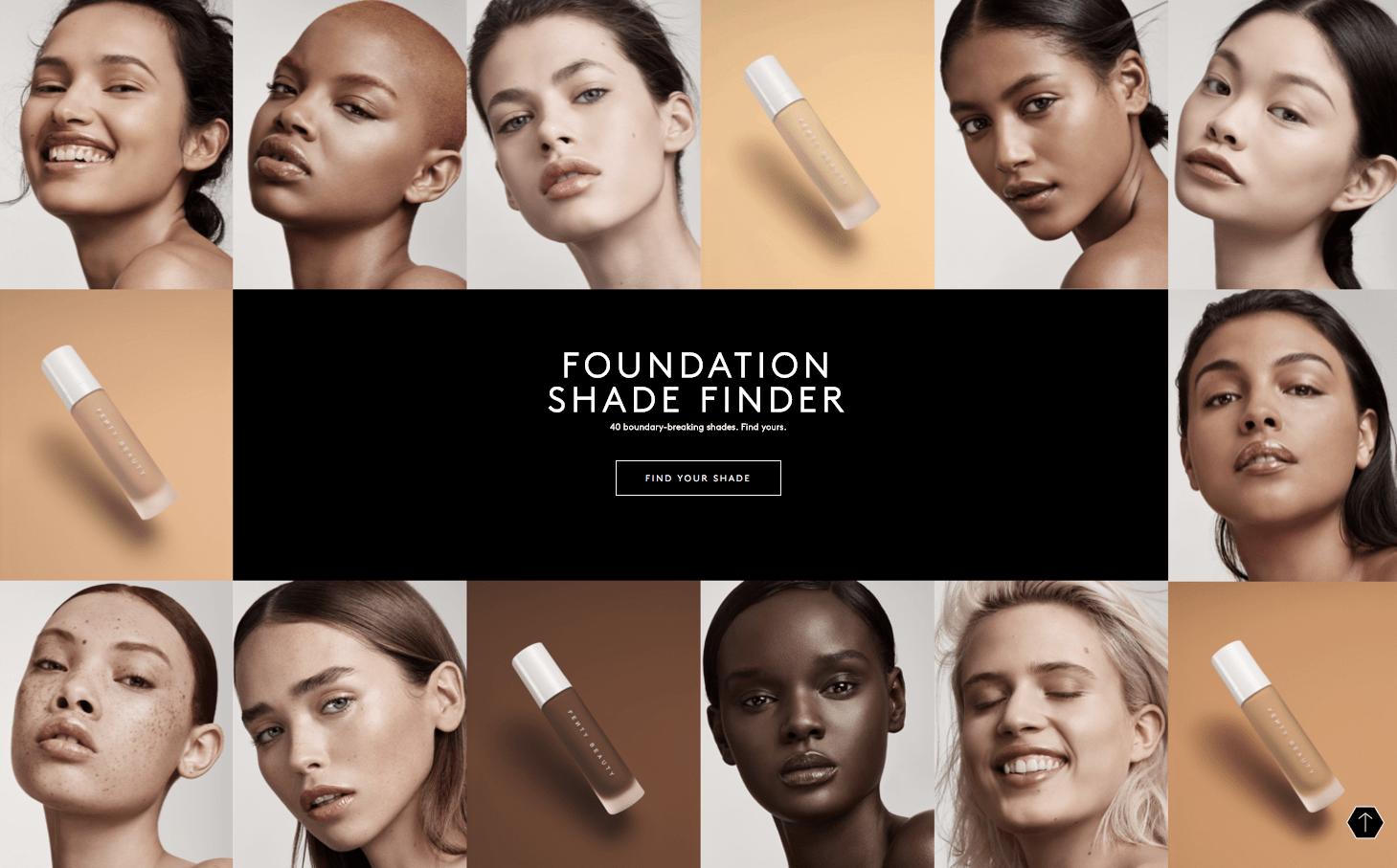 Foundation Fenty Shades