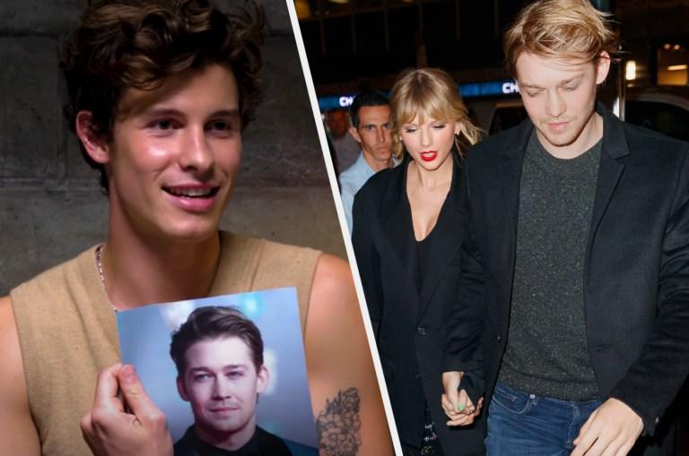 Shawn Mendes Doesn't Trust Joe Alwyn's Blue Eyes