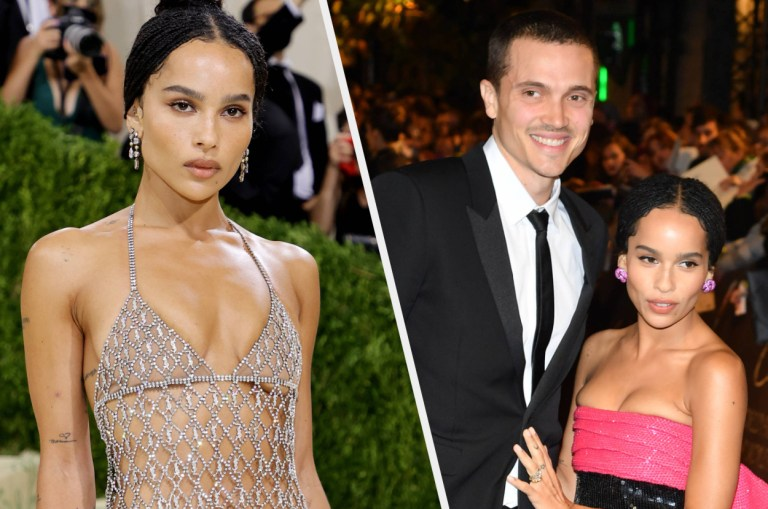 Zoe Kravitz Made A Rare Comment About Her Divorce