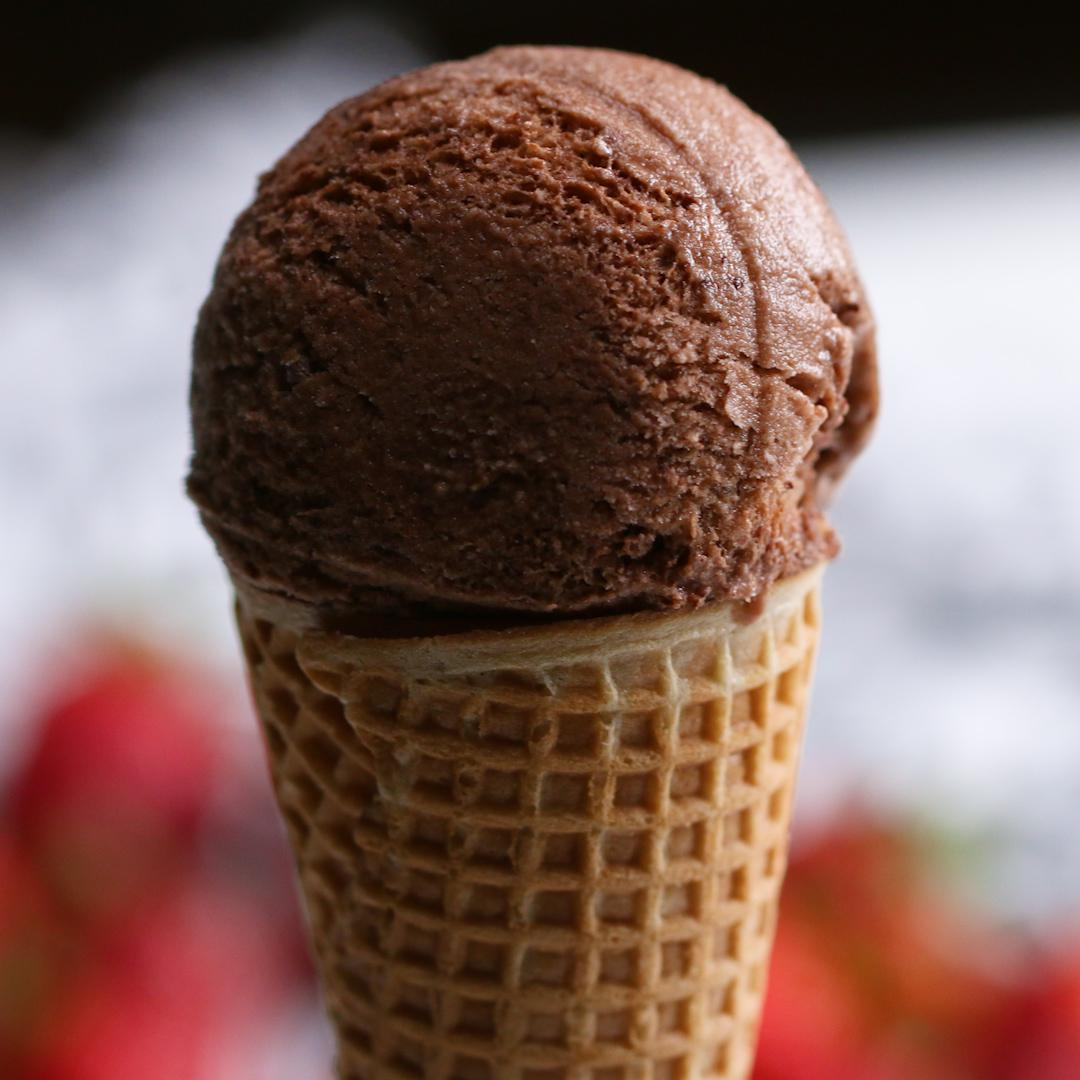 Vegan Aquafaba Chocolate Ice Cream Recipe By Tasty