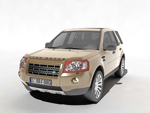 Land Rover Freelander 2 3d Model 3ds Max Files Free