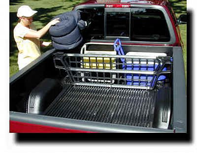 Cargo Gate For Truck Bed Cargo Management Applications By