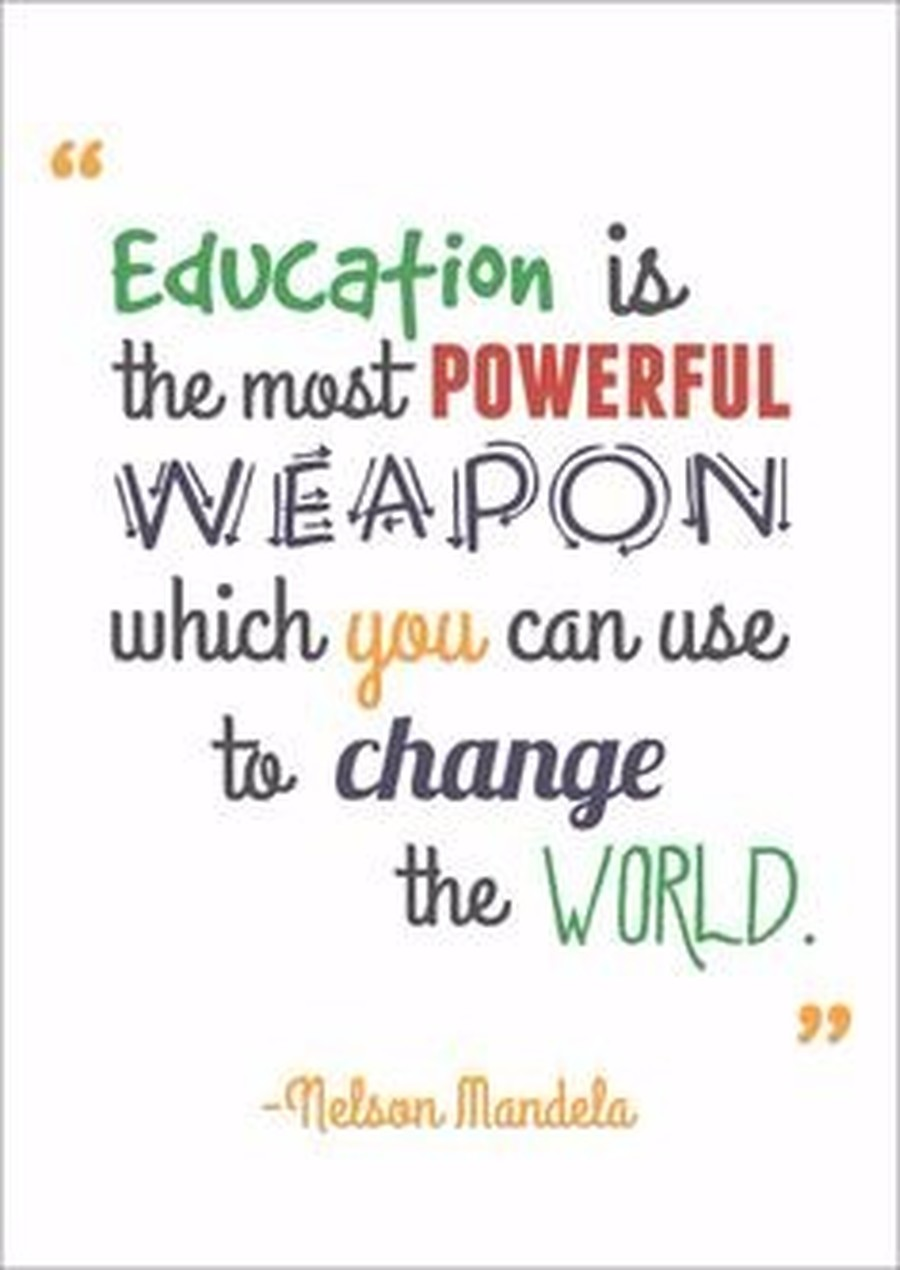 Nelson Most Weapon Can Use Which Change Powerful Mande World You Education