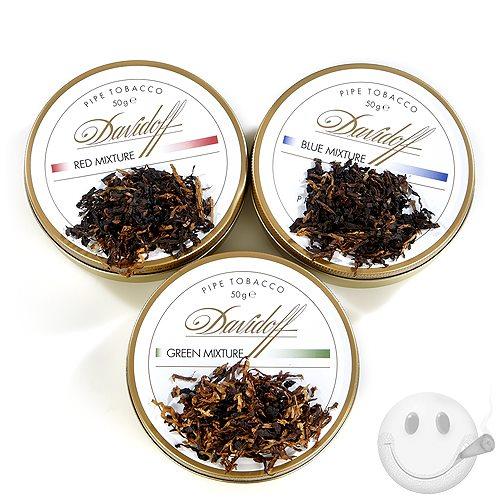 Davidoff White Pipe Tobacco Sampler - Cigars International