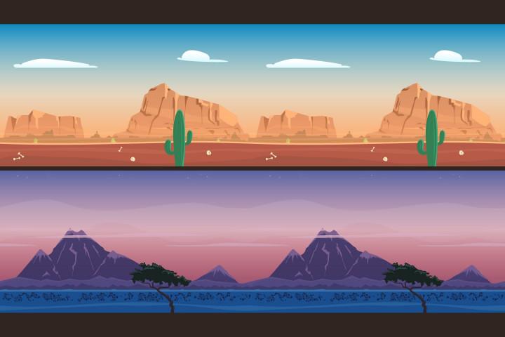 2d Mountain Backgrounds Craftpix Net