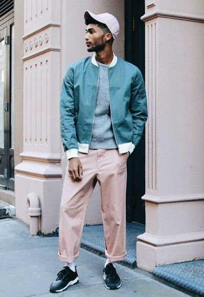 Blue Leisure Denim Suit