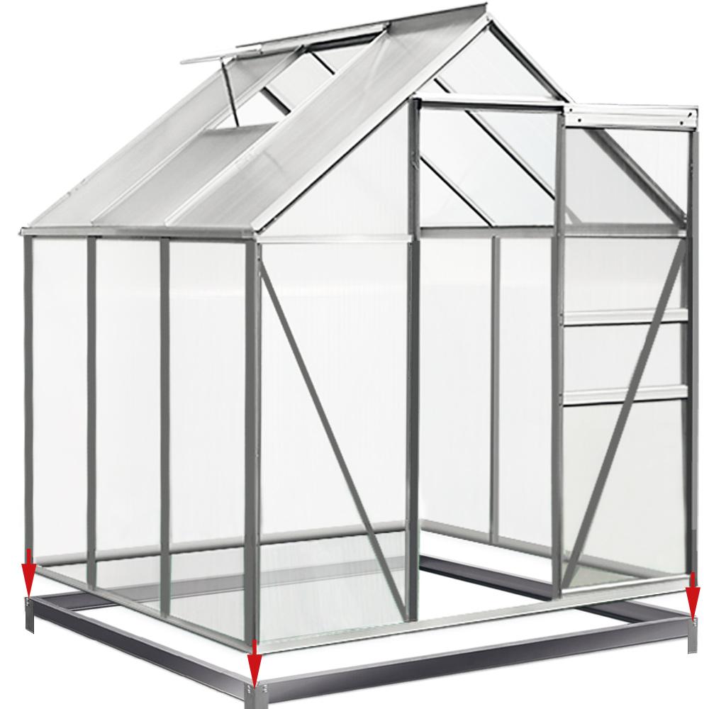 Galvanized Metal Frame Shed