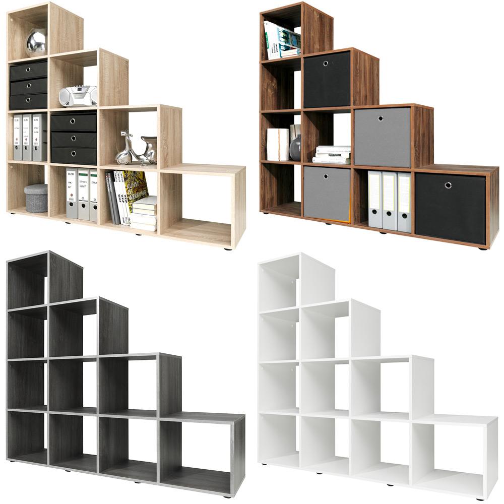 Étagère escalier 6 (Type 10) ou 10 (Type 20) cases Design ...