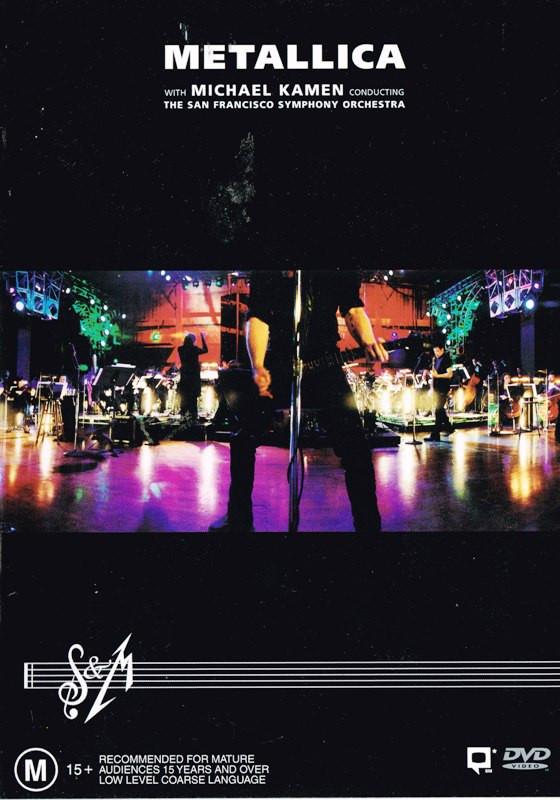 Metallica S Amp M 2000 Dvd Discogs