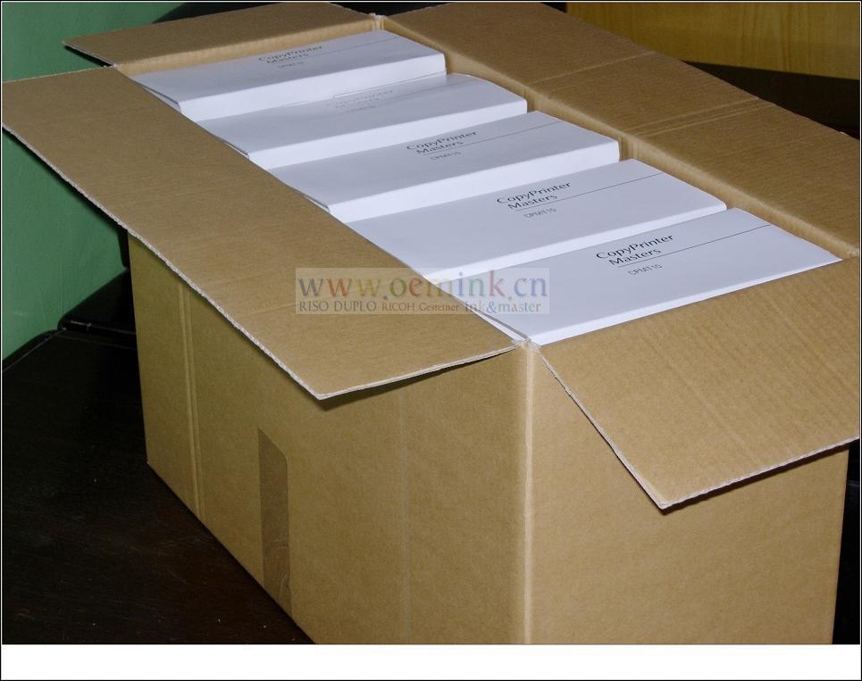 Gestetner Master Compatible Thermal Master Box Of 2 Cpmt 6 Cpmt10