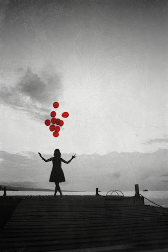 Balloon Go Let And It Girl