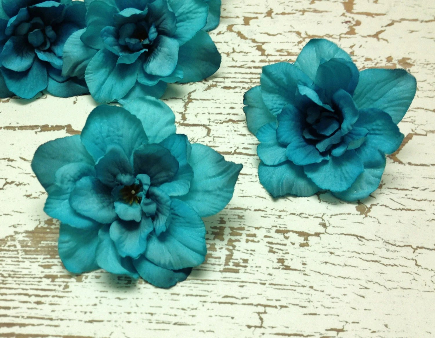 Aqua Teal Flowers     Fashion design images Aqua Teal Flowers
