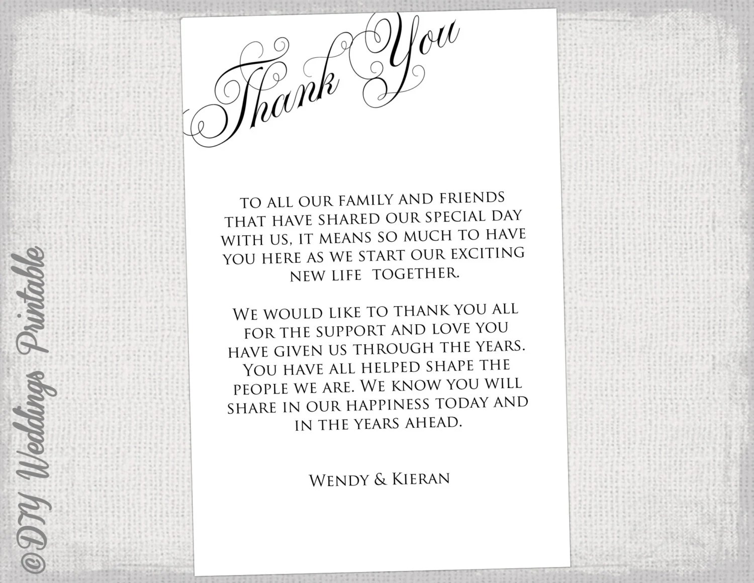Thank you card template resume templates word images for thank you card template maxwellsz
