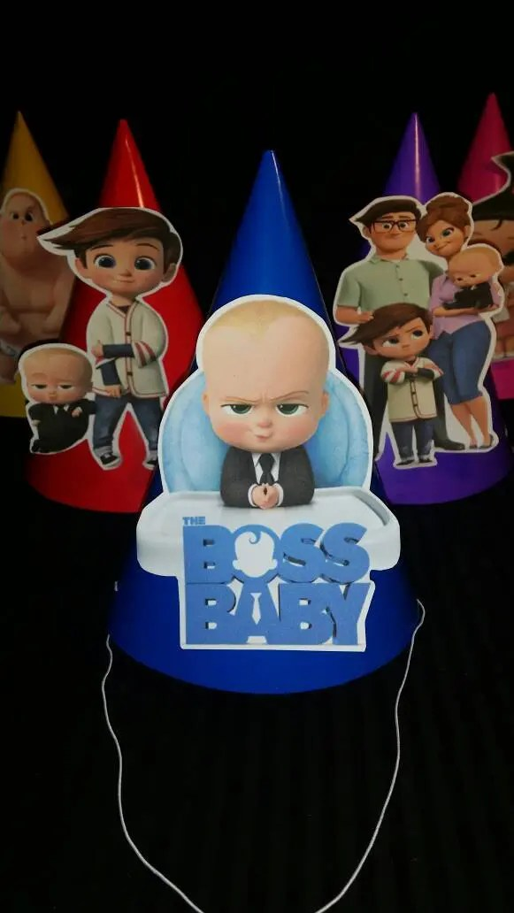 Boss Baby Party Centerpiece Decoration