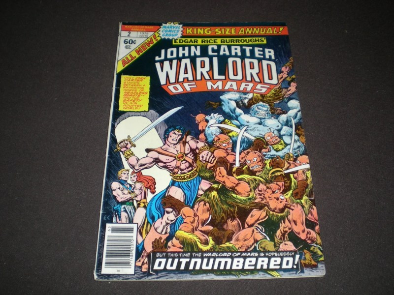 Warlord comic books   Etsy Warlord of Mars Annual 2   1978   Marvel Comics C08