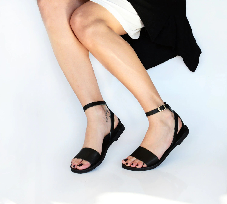 eb255f21119e Leather Sandals Greek Sandals Sandals Leather Shoes Women