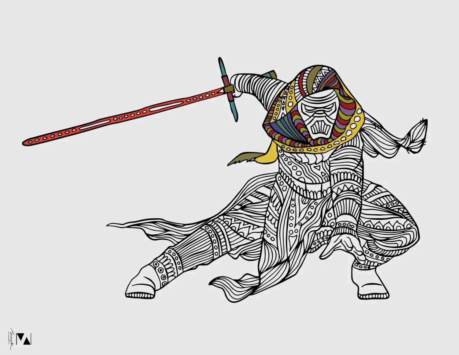 Kylo Ren Coloring Page Star Wars Coloring Page Star Wars