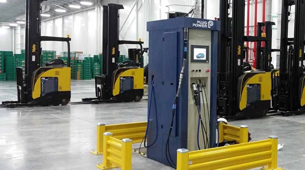 Battery Station Electric Charging Forklift Ballard