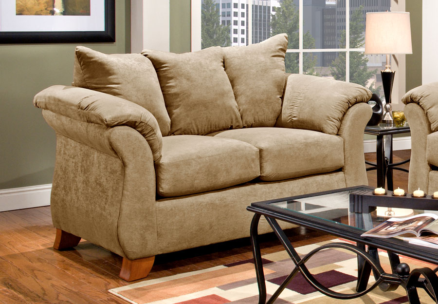 The Furniture Warehouse   Beautiful Home Furnishings at Affordable     Affordable Furniture Sensation Camel Loveseat
