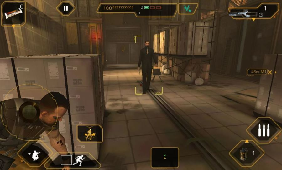 Gaming  The 7 Best Paid Shooting Games for Android   iPhone     Besides being a first person shooter  Deus Ex  The Fall provides you with  other elements such as computer hacking and character customizations that  greatly