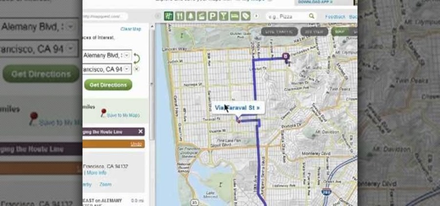 How to Log into the new MapQuest Maps driving directions web app     How to Log into the new MapQuest Maps driving directions web app      Internet     Gadget Hacks