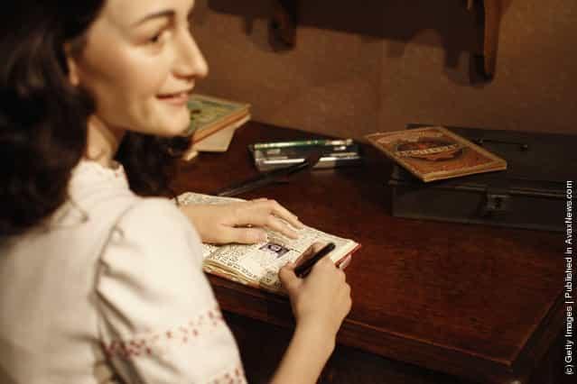 Anne Frank Madame Tussauds