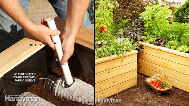 Make Your Own Vegetable Garden Box